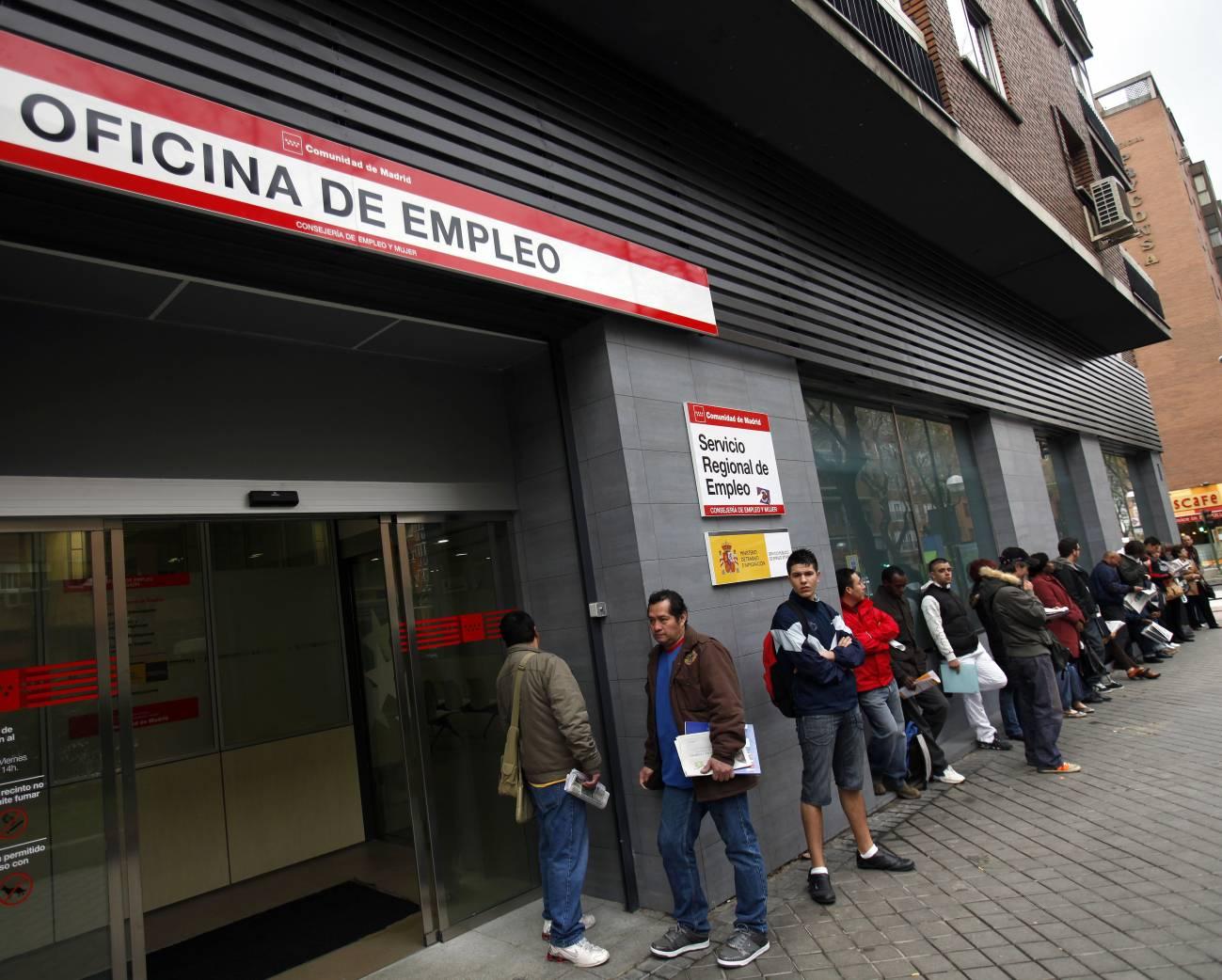 Para realizar el estudio se han analizado las series de desempleo facilitadas por el INEM. Imagen: SINC.