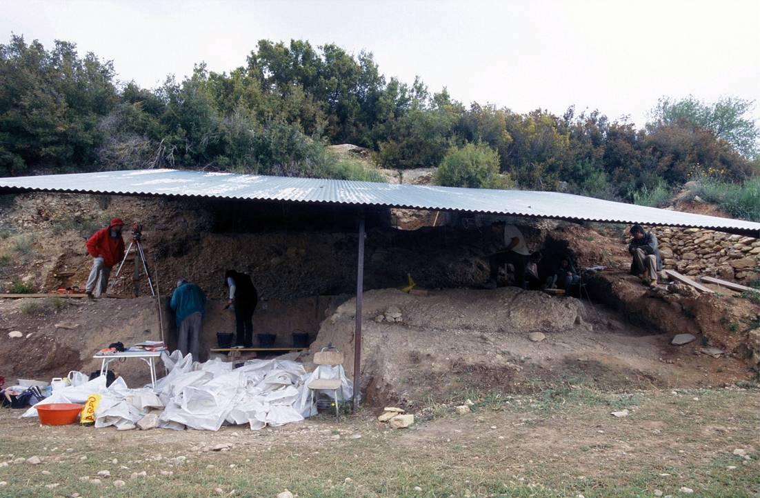 En la fotografía, yacimiento Molí del Salt en Tarragona. Imagen: M. Vaquero et al.