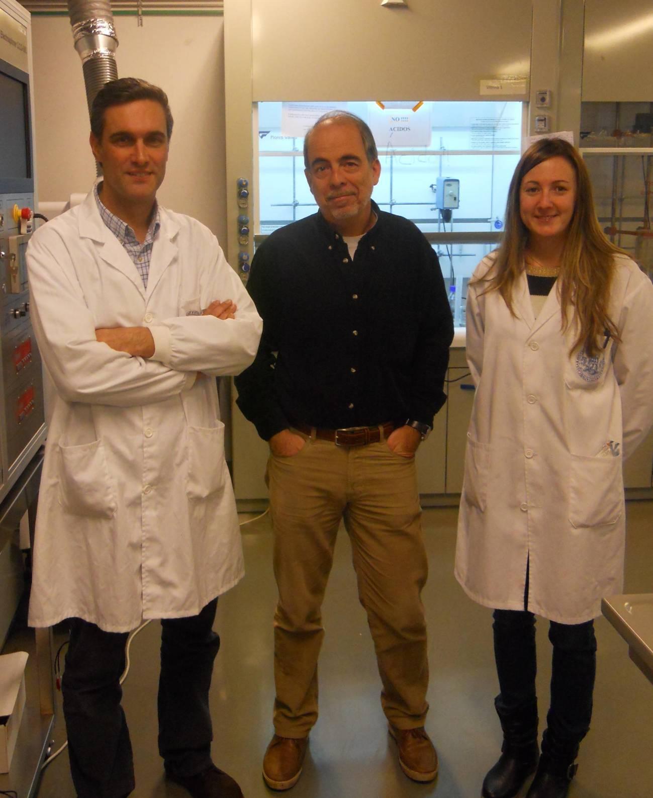 Los investigadores de la Universidad de Zaragoza. / UNIZAR