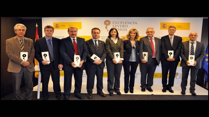 Los ocho primeros centros de excelencia 'Severo Ochoa' reciben sus acreditaciones