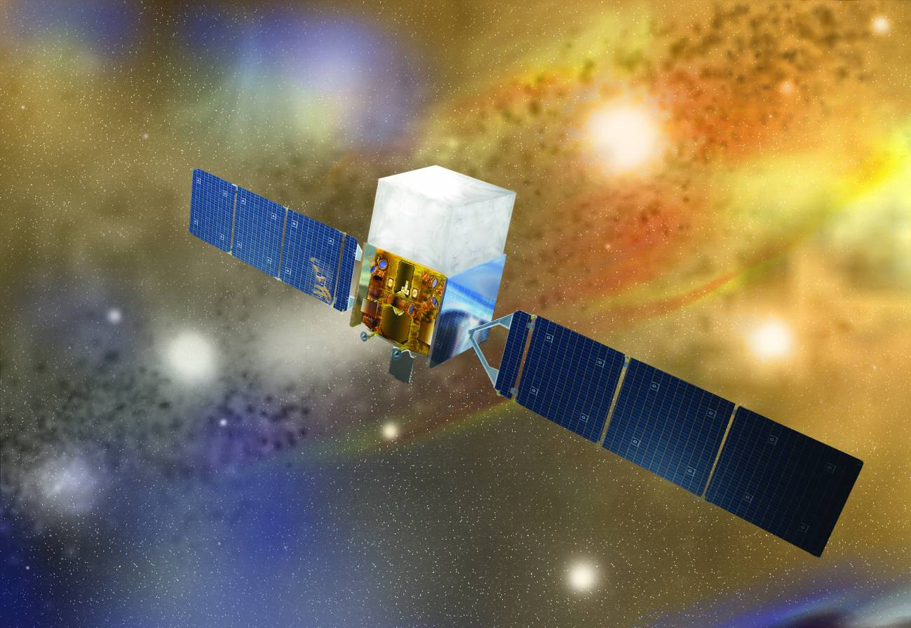 El telescopio Fermi de rayos gamma ha facilitado los datos. Imagen: NASA E/PO, Sonoma St.University, A. Simonnet.