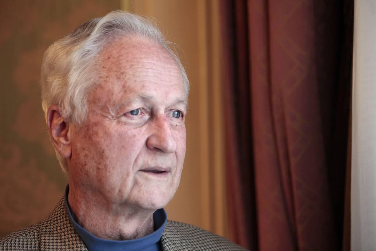 El profesor Richard T. T. Forman durante su estancia en Madrid. Imagen: SINC