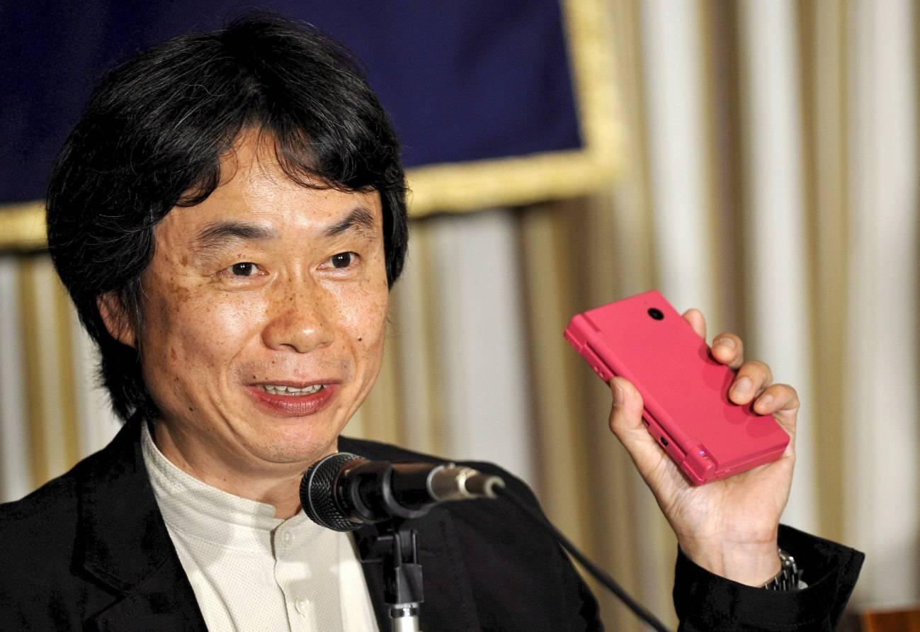 Shigeru Miyamoto. Imagen: Franck Robichon/EFE