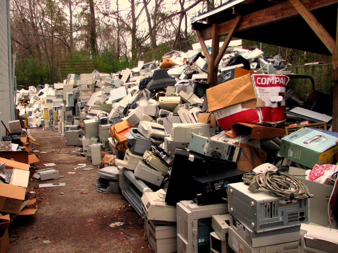 El trabajo analiza la evolución y las etapas de desarrollo del tratamiento de este tipo de residuos. Imagen: Curtis Palmer
