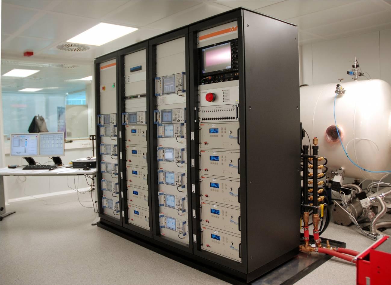 Se instala un potente 'multicarrier' en el Laboratorio de Alta Potencia en Valencia