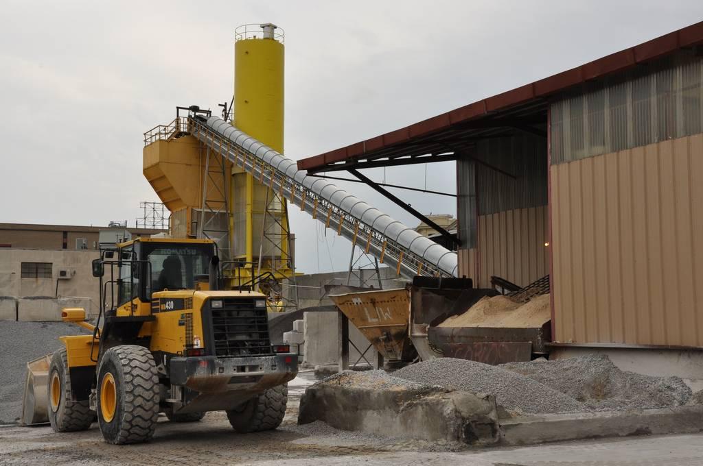 Fábrica de cemento. Imagen: Moment Captured