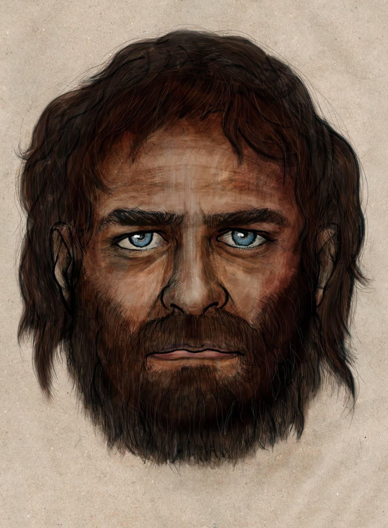 Un antiguo cazador recolector europeo del mesolítico. / PALETON / CSIC