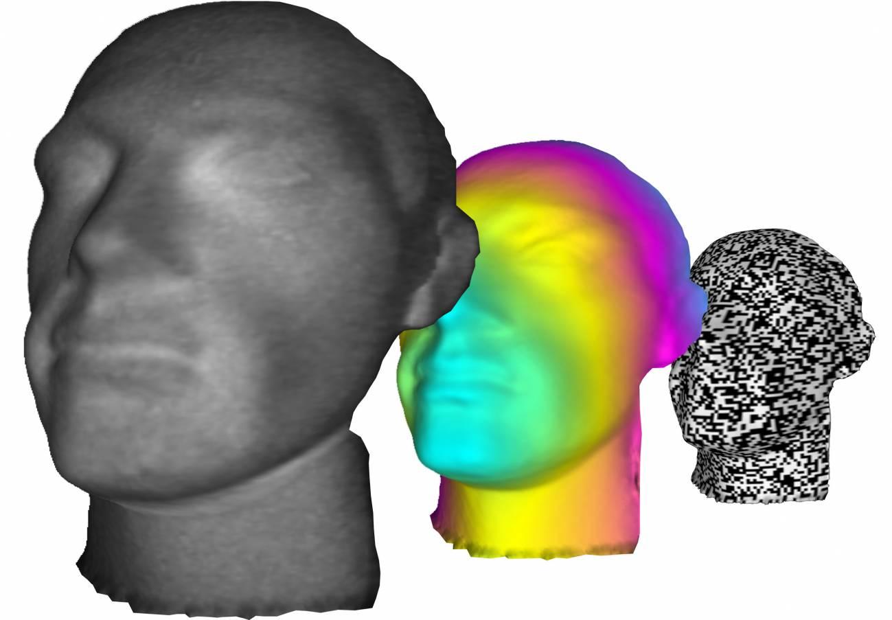 Los científicos han usado un proyector, detectores de un solo pixel y algoritmos para transformar las imágenes 2D en 3D. / Science
