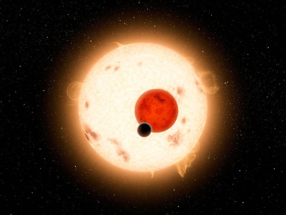 Un planeta con dos soles como Tatooine, de Star Wars