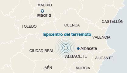 Epicentro del terremoto. / Guardia Civil