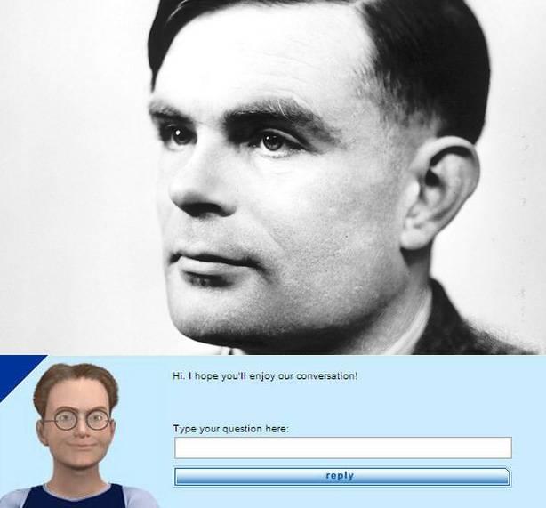 Alan Turing y el software que ha pasado su famoso test. / turing.org