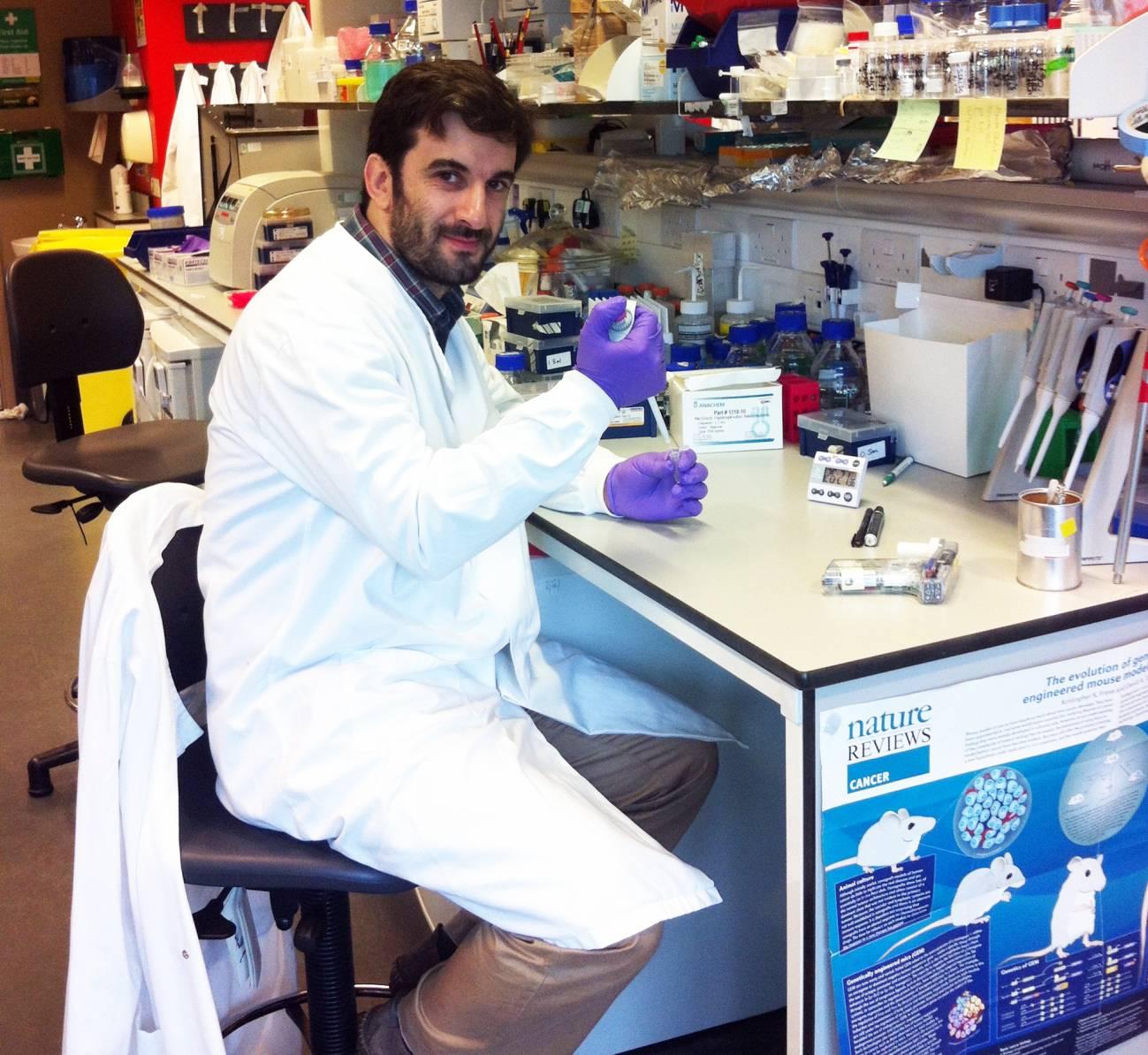 El investigador portugués Tiago Brandao Rodrigues. / Universidad de Cambridge