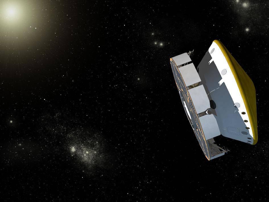 La nave de la misión MSL de la NASA ha maniobrado esta semana rumbo a Marte.