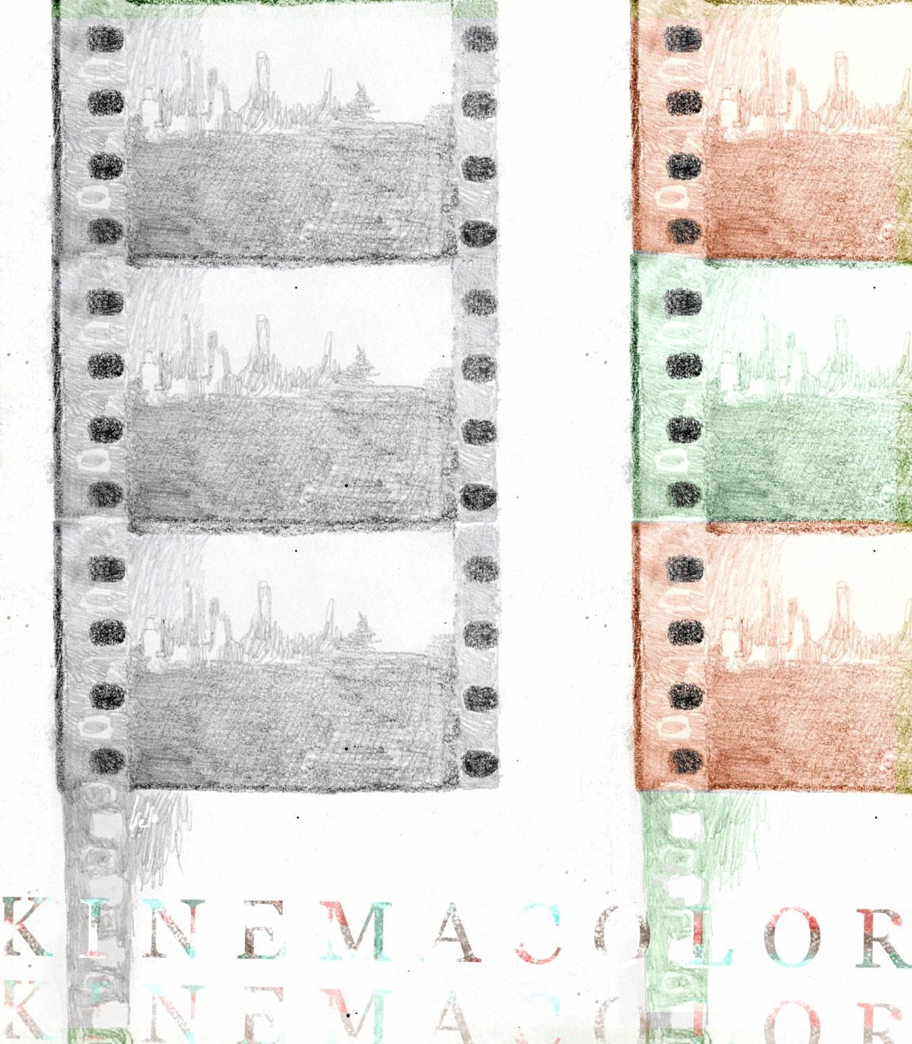 1908: se presenta Kinemacolor, la primera película cinematográfica en color.