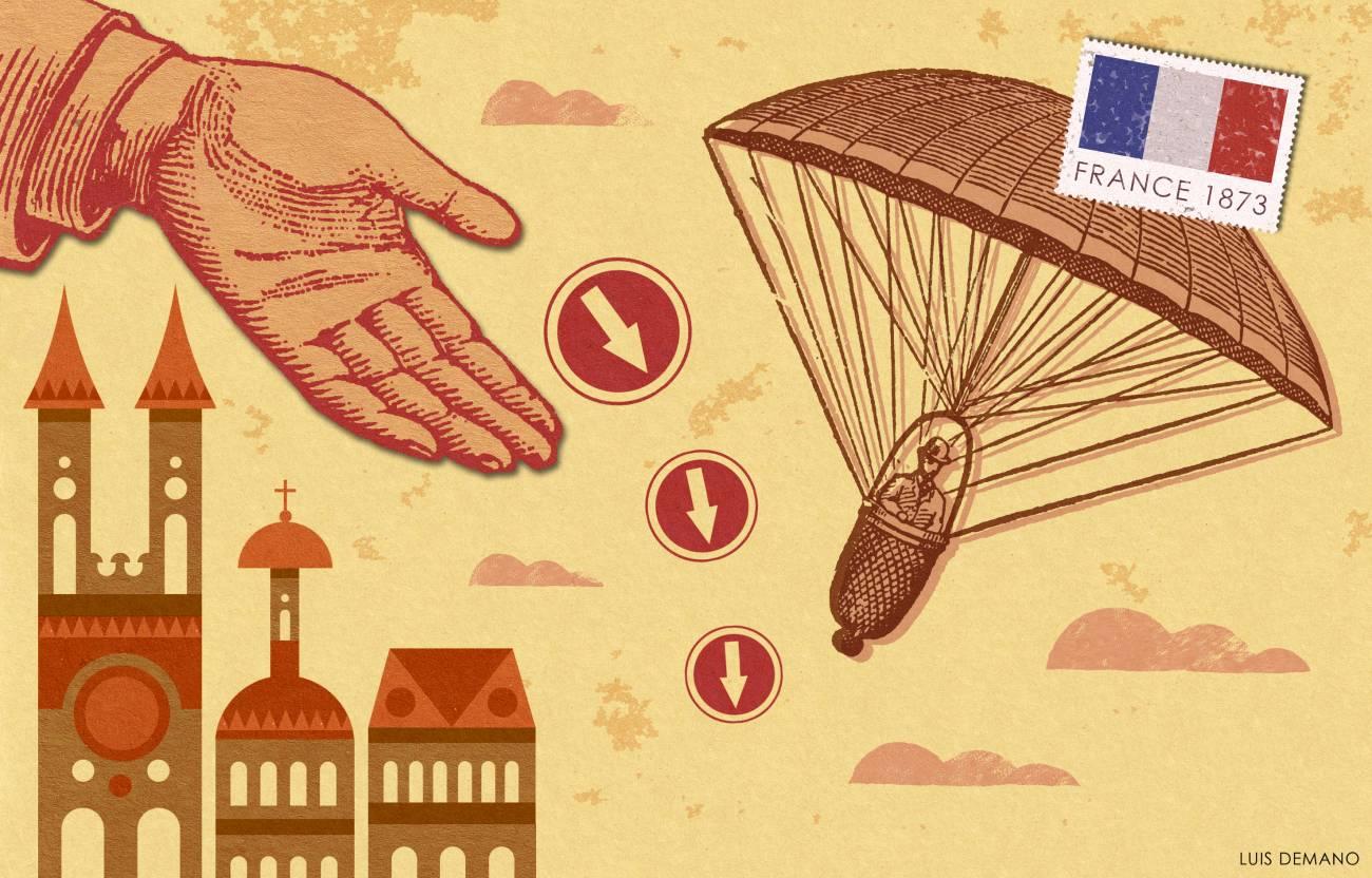 Se cumplen 225 años del primer experimento de paracaidismo