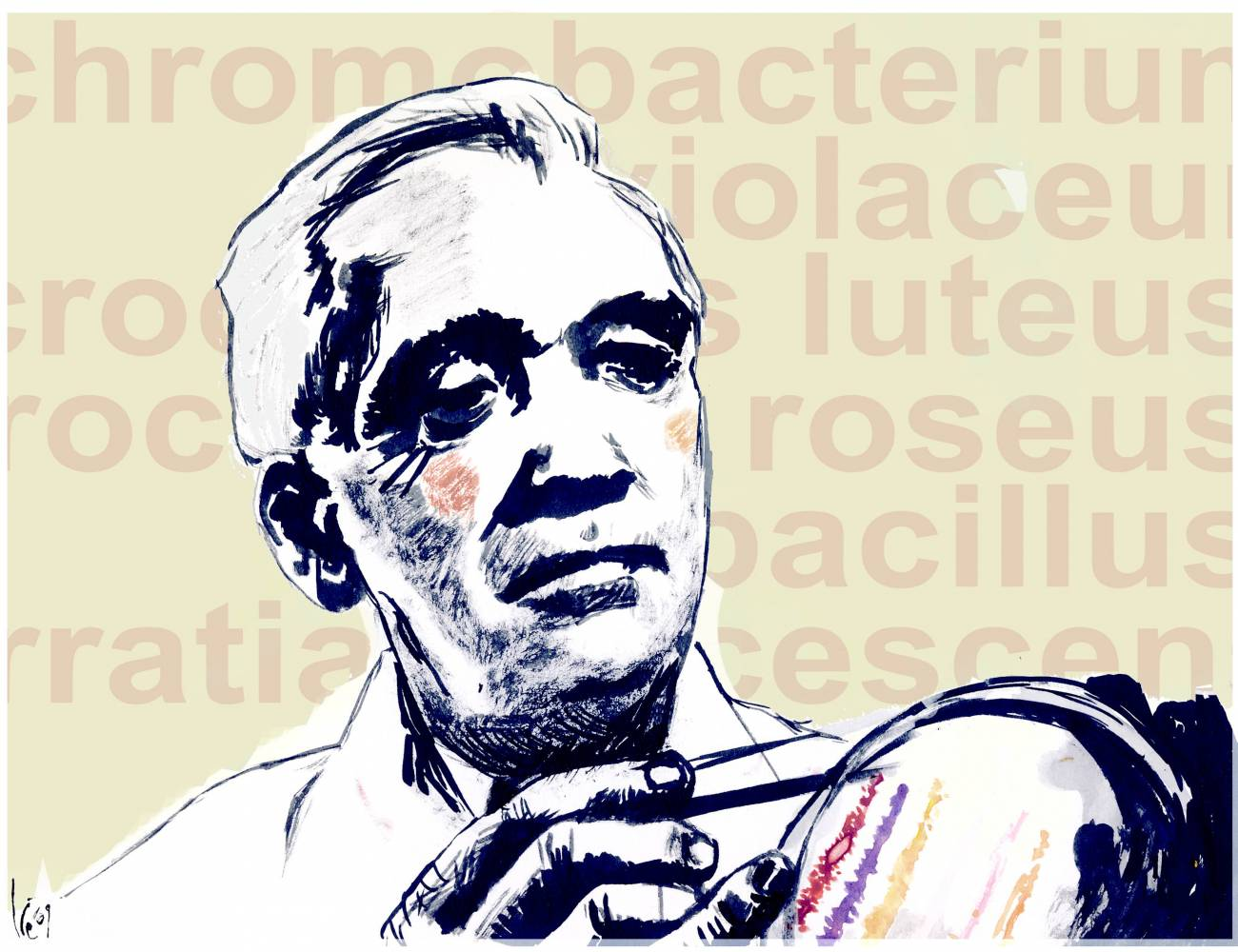 El 11 de marzo de 1955 murió el científico escocés Alexander Fleming