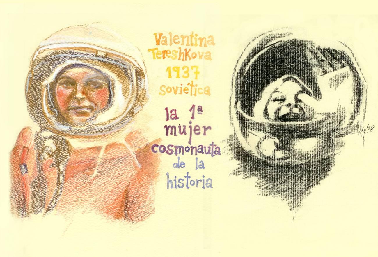 45 Aniversario: Valentina Tereshkova, primera mujer cosmonauta de la historia