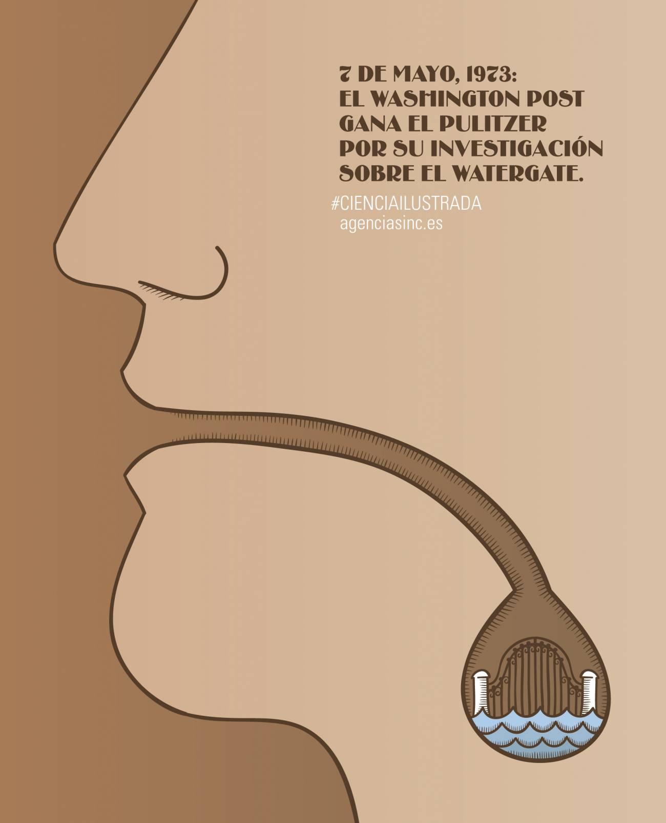 El 7 de mayo de 1973 el periódico The Washington Post ganaba el premio Pulitzer por su investigación en el caso Watergate