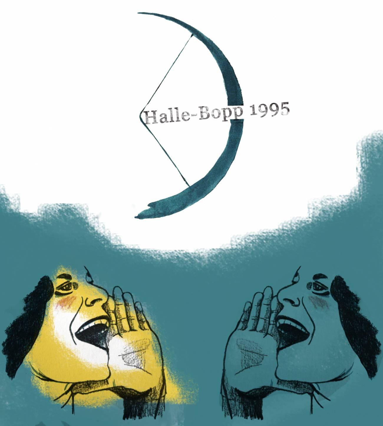 El 23 de julio de 1995 Alan Hale y Thomas Bopp descubrían el cometa Hale-Bopp: El Gran Cometa de 1997