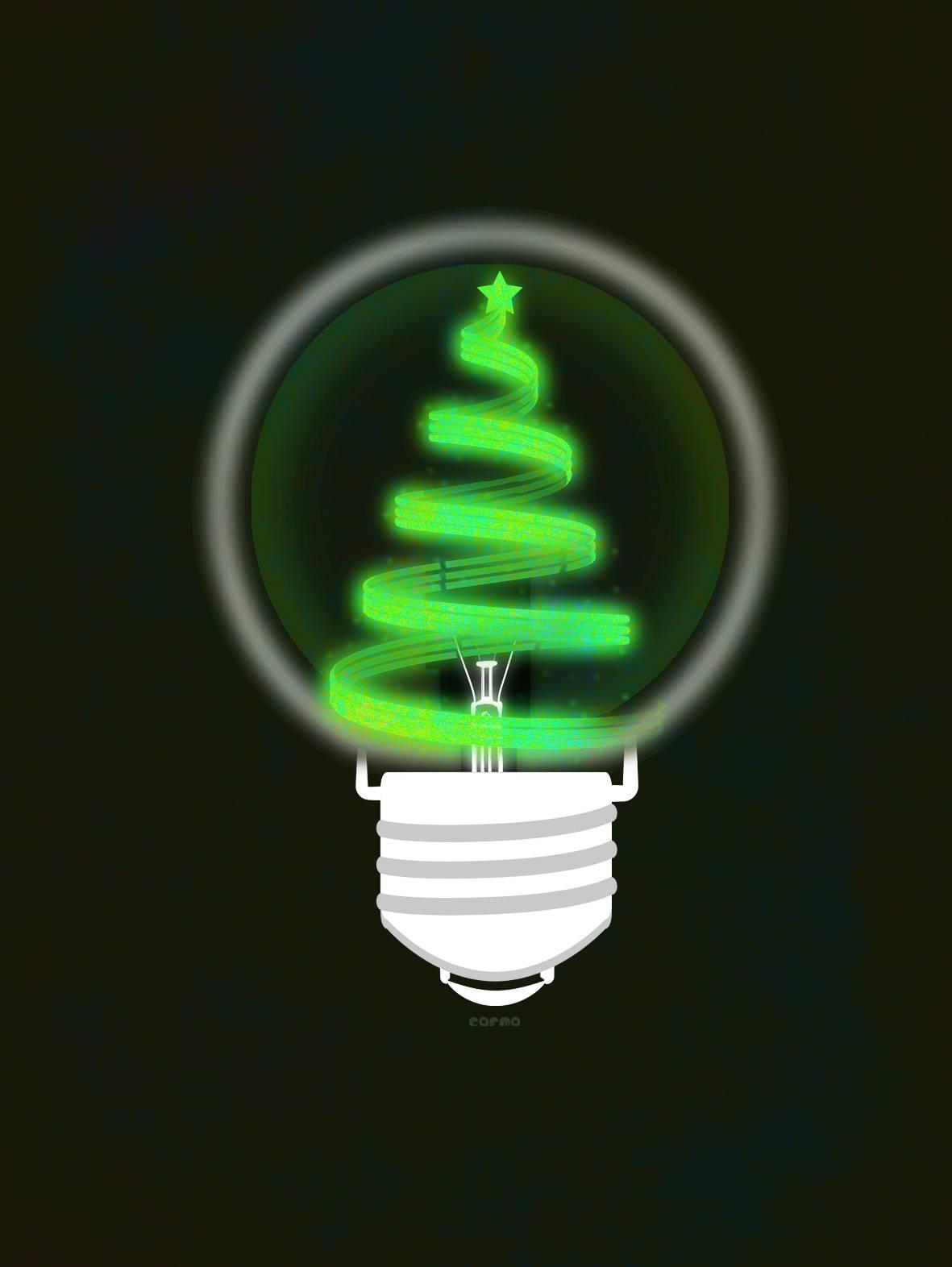 La electricidad adorna por primera vez un abeto de Navidad en 1882