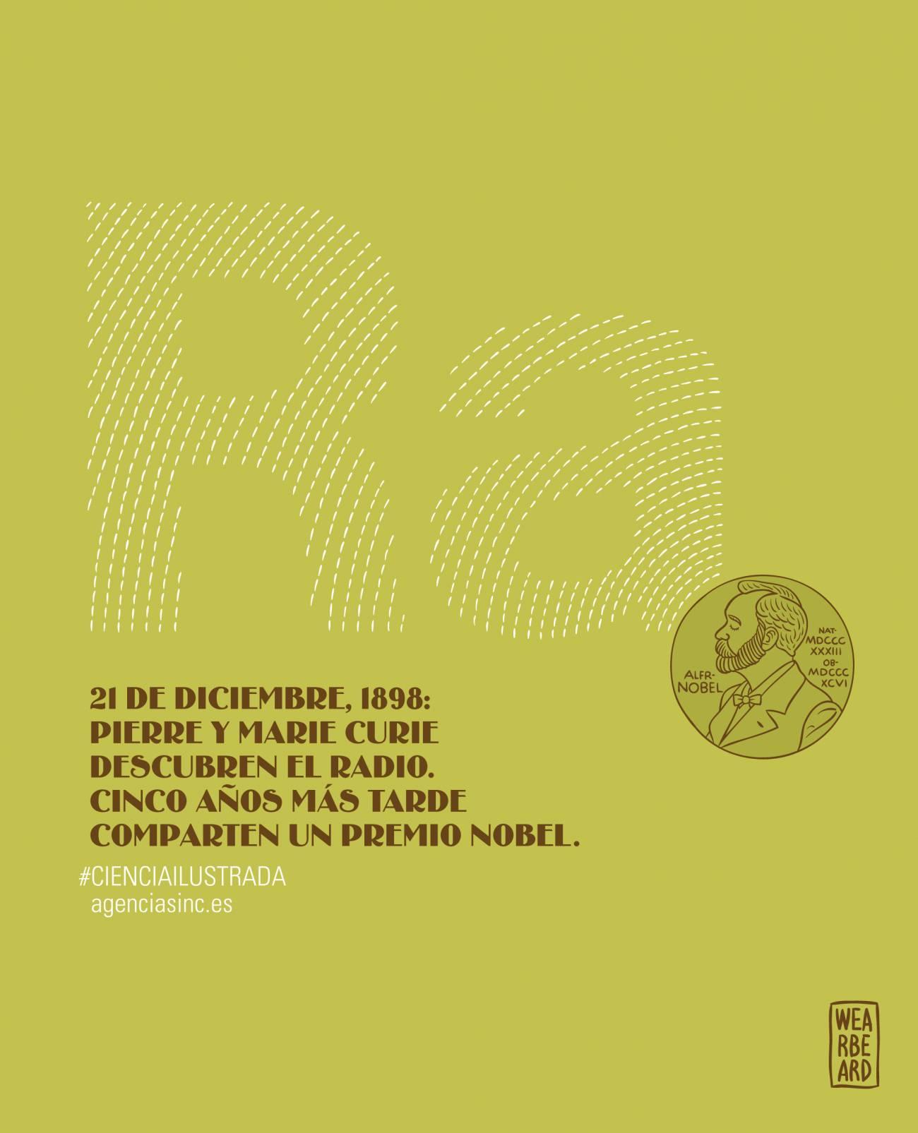 Se cumplen 115 años del descubrimiento del radio. / SINC