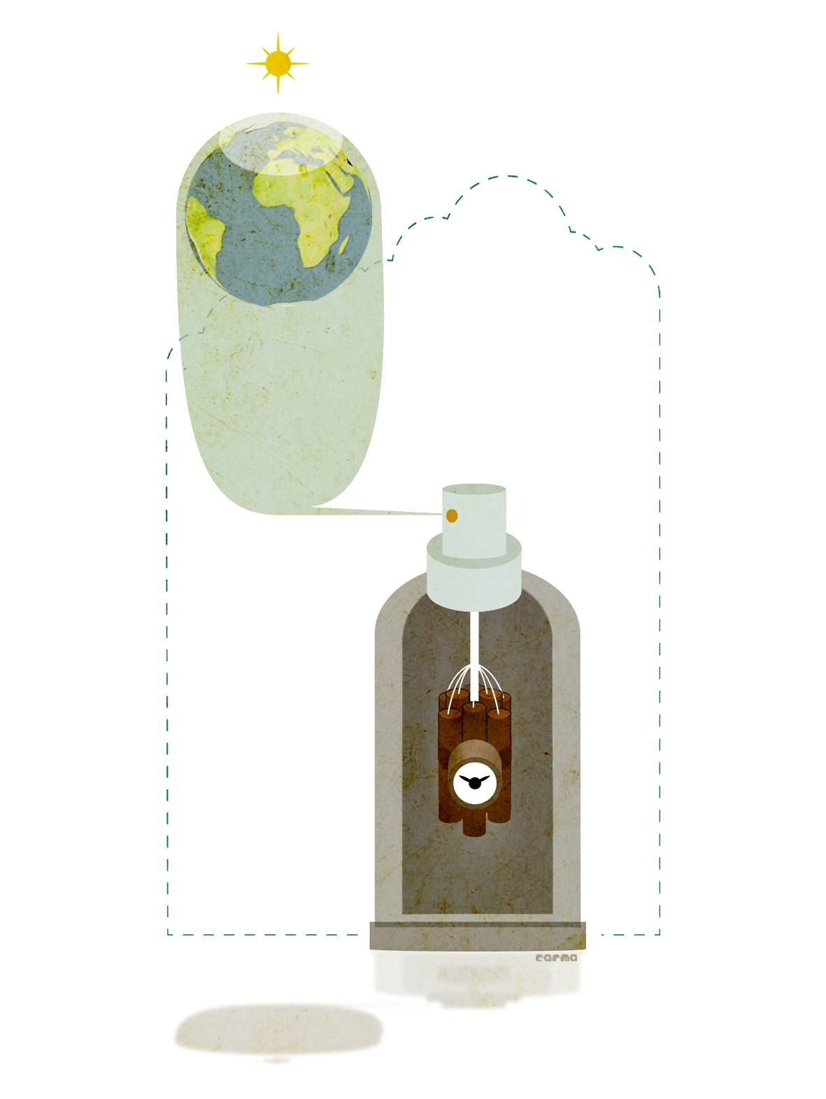 En 1978 Suecia prohíbe el uso de aerosoles para proteger la capa de ozono
