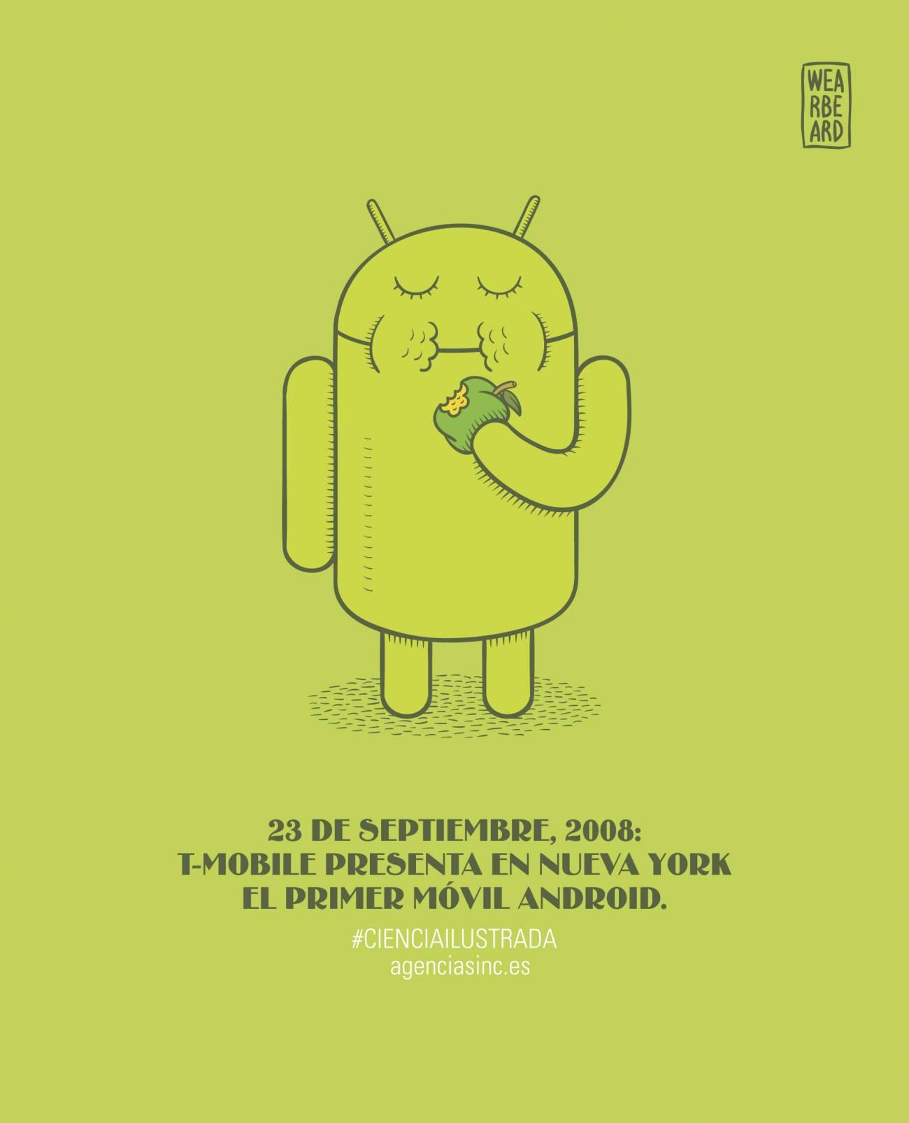 T-Mobile mostraba oficialmente al público el primer Googlephone
