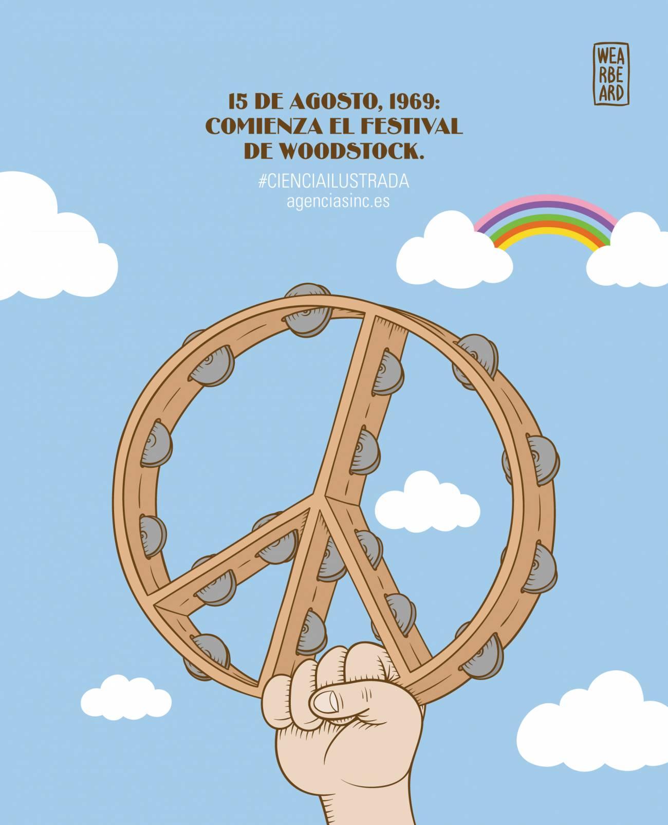 Se cumplen 45 años del festival de Woodstock. / Sinc