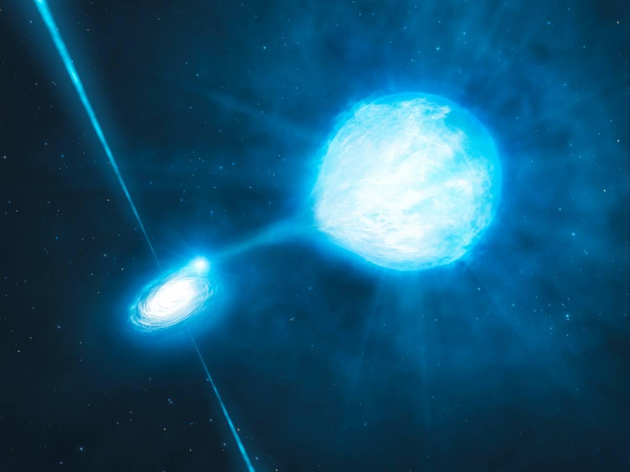 Detectan el agujero negro de masa estelar más distante hasta ahora conocido