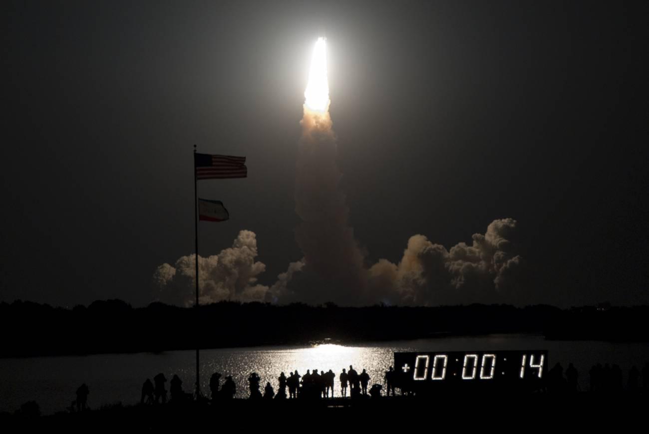 El 'Endeavour' parte hacia la ISS con dos módulos europeos