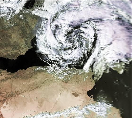Predicen ciclones mediterráneos de forma rápida y barata