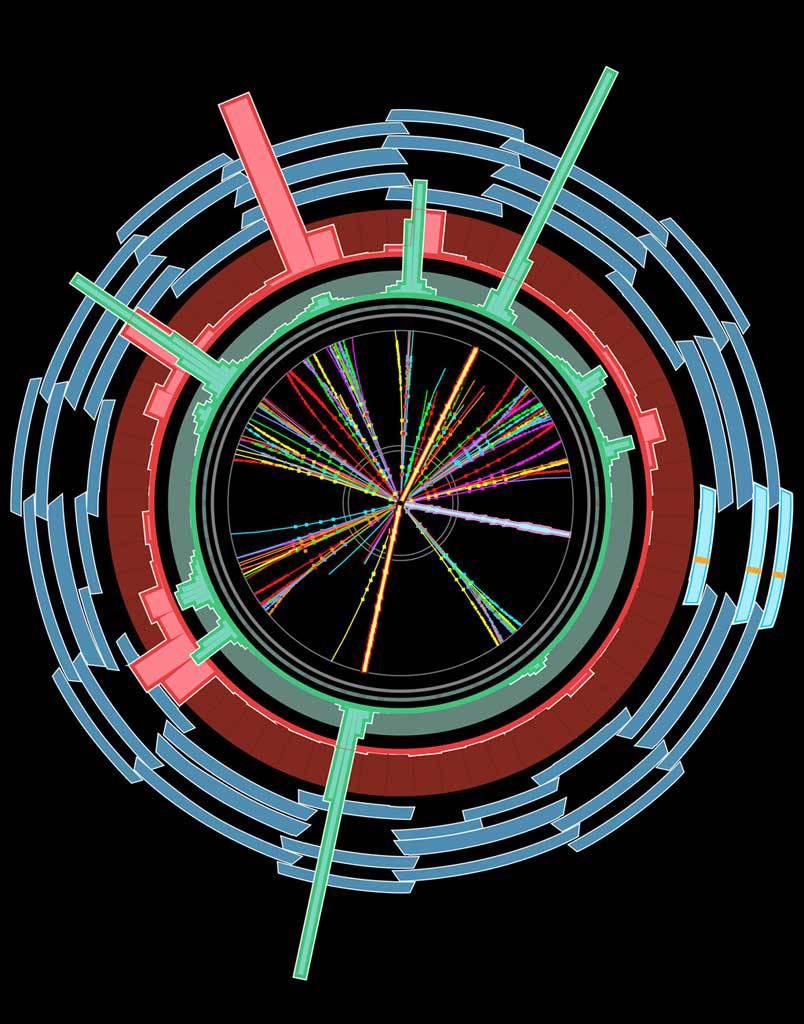 Producción y decaimiento de un agujero negro en ATLAS