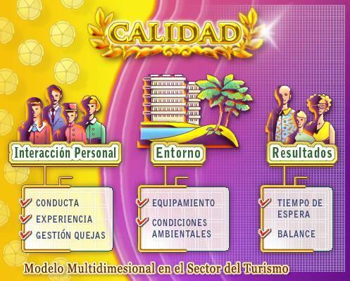 Las agencias de viaje españolas podrán medir la calidad de sus servicios a través de un modelo multidimensional
