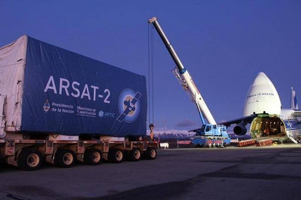 Argentina lanza al espacio el Arsat-2
