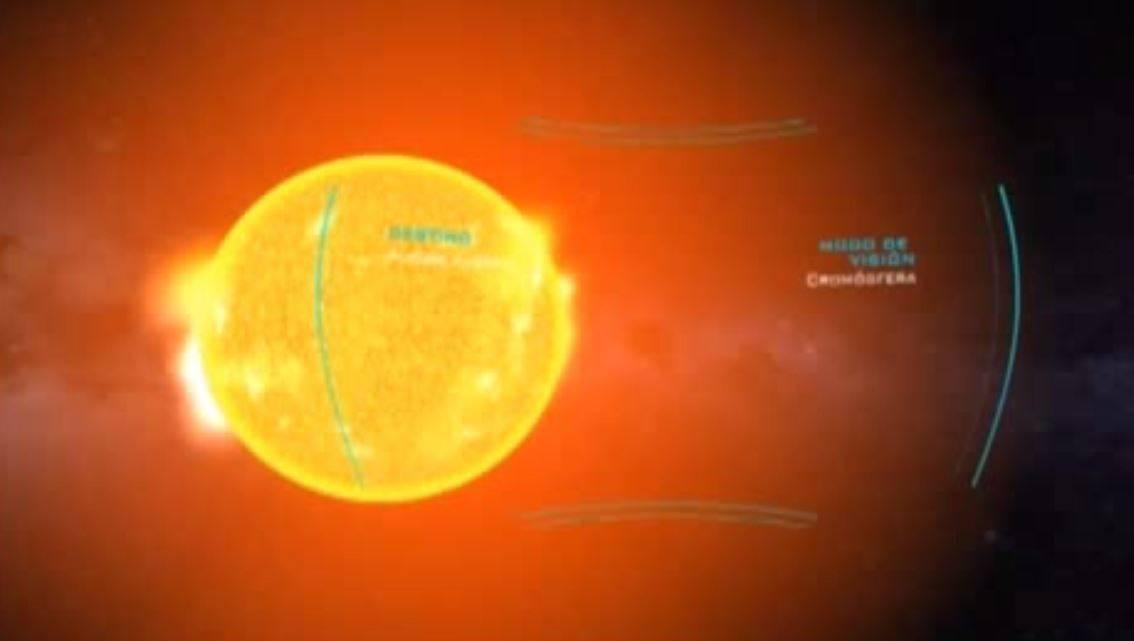 pabellón astronómico interactivo