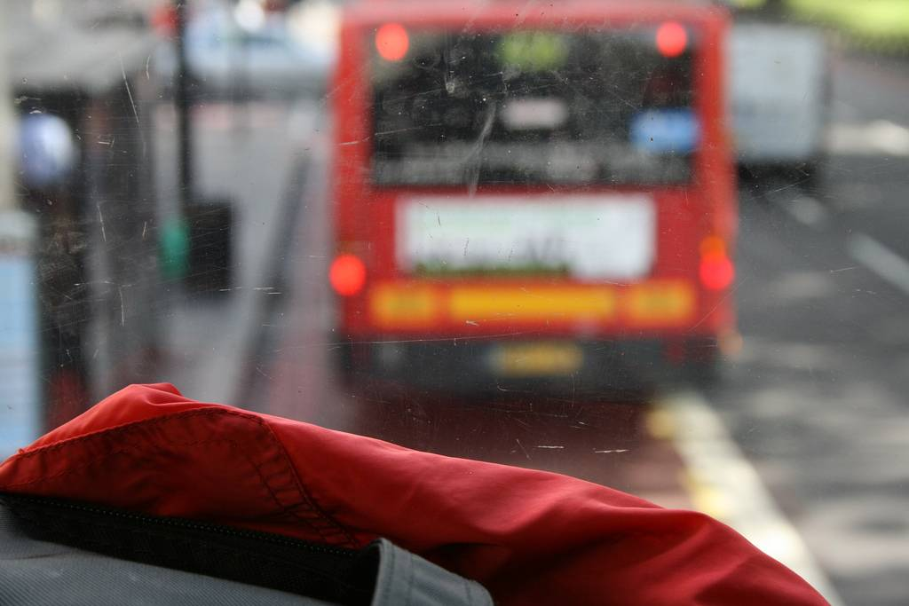 Autobús en Londres / Natalia Lobato. Flikr