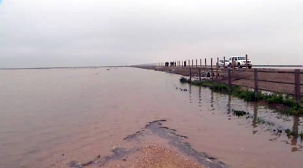 El agua del Guadiamar vuelve a Doñana