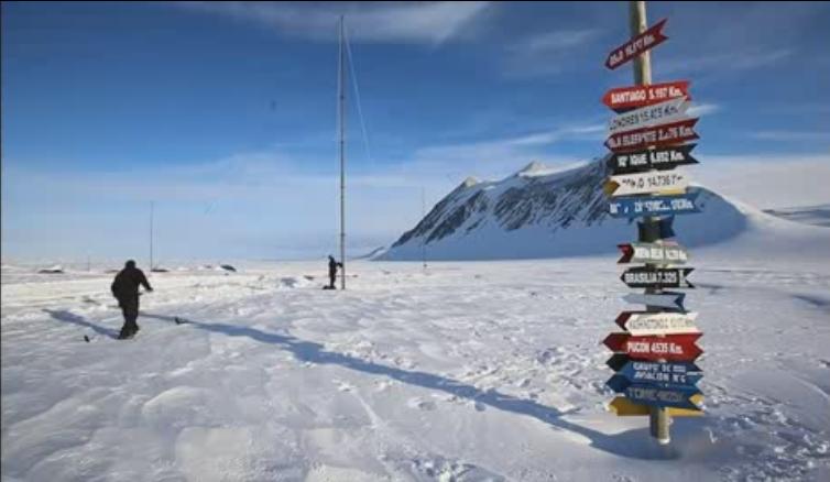 El Glaciar Unión, un oasis para la ciencia