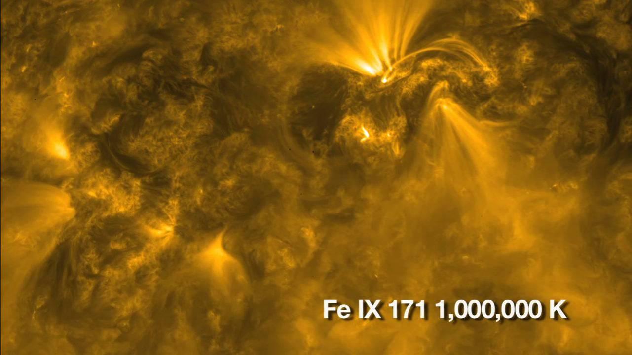 El sol, en su naturaleza más impactante