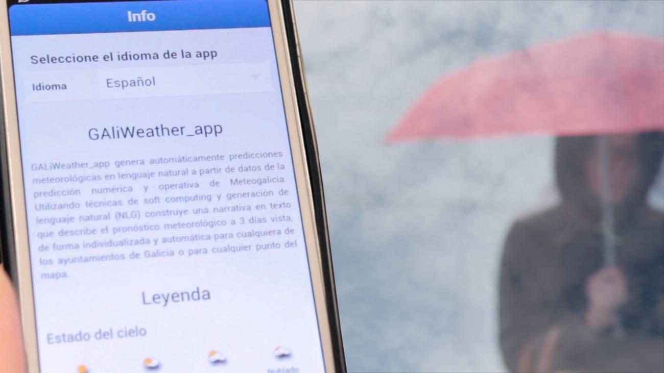 GALiWeather: el tiempo en palabras (The Weather Report in words)
