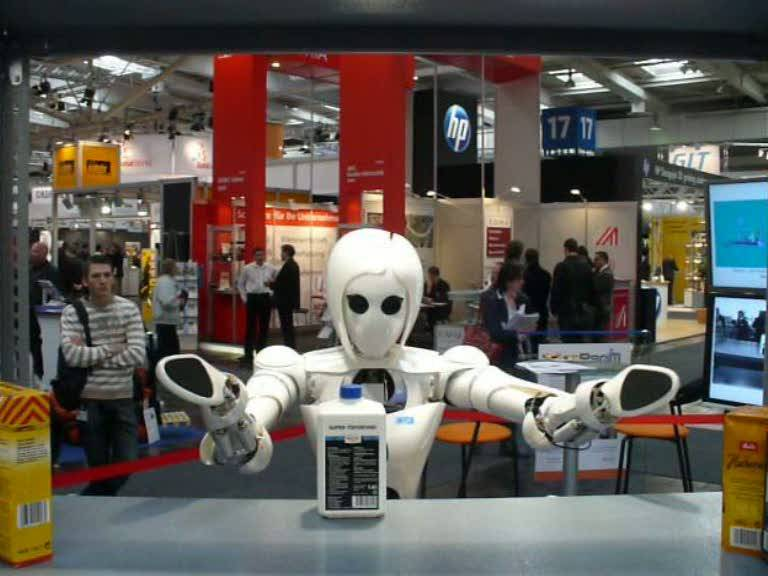 Presentan a la androide AILA que navega y manipula objetos de forma autónoma