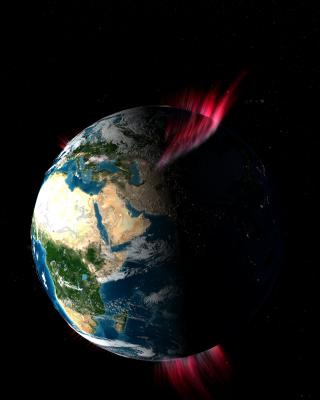 La Aurora Polar vista desde el espacio