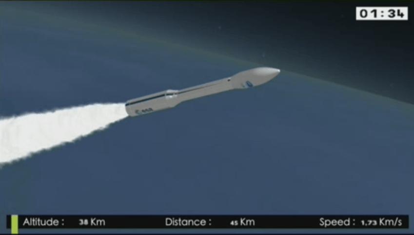 La ESA concluye con éxito su vuelo experimental