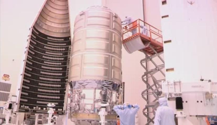 La NASA prepara el vehículo espacial Cygnus