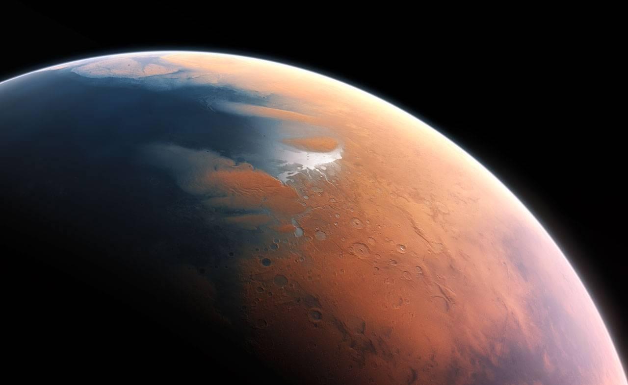 Marte tuvo agua como para cubrir el planeta completo
