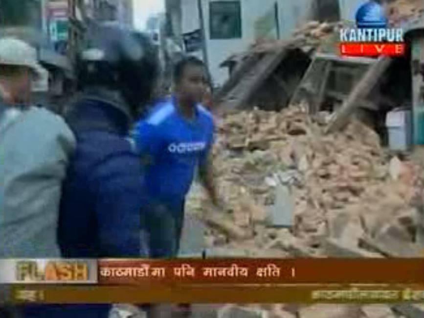 Último recuento de víctimas en Nepal