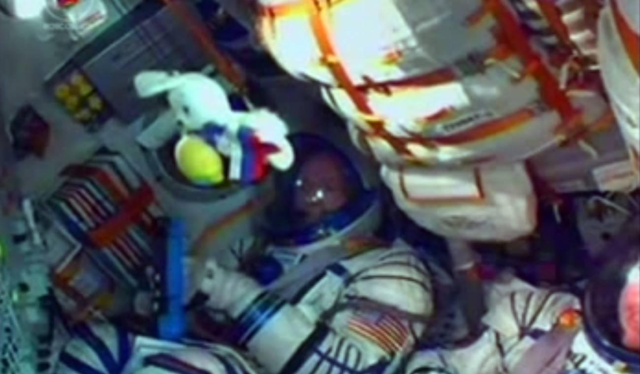 Despegue de la Soyuz.