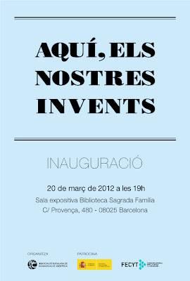 """Inauguración de la exposición """"Aquí, els nostres invents"""""""