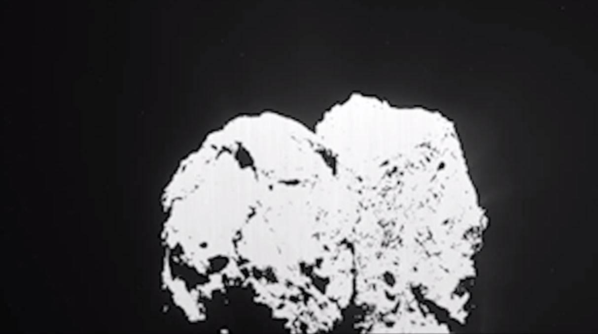 Rosetta graba una explosión en el cometa 'Chury'