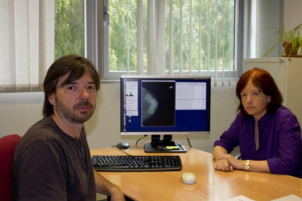 DMScan cuantifica la densidad de la mama